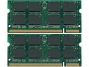 4GB (2X2GB) PC2-5300 667MHz LAPTOP MEMORY for Dell Latitude D620