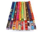 Chinese Characteristics Bamboo Chopsticks  (Set of 10 Pairs)