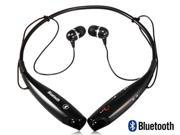 Bluetooth Headset Headphones HV800 Wireless 4.0 On-ear Sports Handsfree (Black)