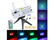 DJ Light Mini Laser Stage Lighting Projector Party with MP3 Player