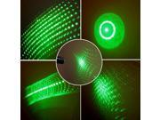 5 in 1 20mW 532nm Star Projector Green Laser Pointer Pen + Caps