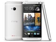 "HTC One 801S Silver (Factory Unlocked) 4.7"" 1.7Ghz Quad-Core 2G RAM 32GB"