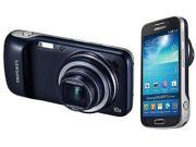 Samsung Galaxy S4 Zoom SM-C105 LTE Black (FACTORY UNLOCKED) 8GB 16MP 4.3""