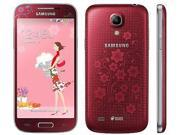 "Samsung Galaxy S4 Mini Duos GT-i9192 Red LaFleur (FACTORY UNLOCKED) 4.3"" 8GB"