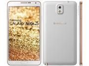 "Samsung Galaxy Note 3 N9005 Gold White (FACTORY UNLOCKED) 5.7"""" FULL HD 32GB"