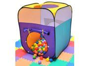 """Sunshine Rectangle Twist Play Tent w/ 200 """"Phthalate Free"""" Balls & Safety Meshing for Child Visibility"""