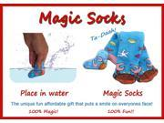 Magic Socks Fun For Adults & Children Crab Design Expands In Water