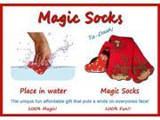 Magic Socks Fun For Adults & Children Monkey Design Expands In Water