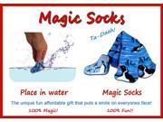 Magic Socks Fun For Adults & Children Panda Design Expands In Water