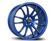 Avid.1 AV-20 17x9 5-100 +35 Flat Blue Wheels Rims SUBARU WRX IMPREZA TC RALLY OUTBACK