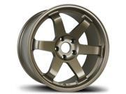 Avid.1 AV-06 18x9.5 5-114.3 +38 Bronze Wheels 300zx 350z G35 STI CIVIC