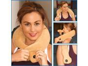 Neck Massage Pillow - Neck Pain Relief - Shiatsu Neck Massager (grey)
