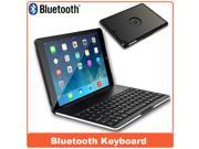 Bluetooth Keyboard Case Cover For iPad Air Wireless Plastic+Aluminum Keyboard with back light which offer 6 color Drop Shipping