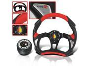 MITSUBISHI ECLIPSE 1997 JDM STEERING WHEEL WITH ADAPTER HUB KIT AND HORN BUTTON