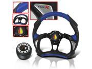 MITSUBISHI ECLIPSE 1999 JDM STEERING WHEEL WITH ADAPTER HUB KIT AND HORN BUTTON