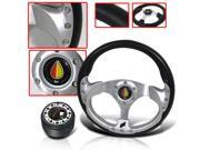 ECLIPSE 2002 JDM DRESSUP COMBO STEERING WHEEL WITH ADAPTER HUB AND HORN BUTTON