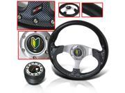 ECLIPSE 2005 JDM DRESSUP COMBO STEERING WHEEL WITH ADAPTER HUB AND HORN BUTTON