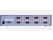 DTECH DT-7258 8-Port UXGA Monitor Splitter/Extender (Female Input)-250MHZ
