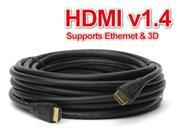 20FT HDMI Cable 6m Video Cord Bluray DVD XBOX PS 3 4 Wii U LCD HD TV 1080P