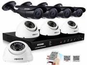 ZOSI 8CH D1 DVR HDMI Jack Home Security System 960H 8*800TVL IR Outdoor Cameras Surveillance CCTV System Kit