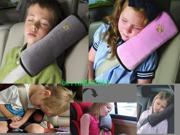 Children Car Auto seat belt shoulder back cushion Baby pad Cover support pillow
