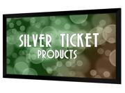 """STR-169100 Silver Ticket 100"""" Diagonal 16:9 HDTV (6 Piece Fixed Frame) Projector Screen White Material"""