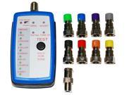 8 Way Coax Mapper, tracker, toner, tracer, finder, RG6, Coaxial Cable
