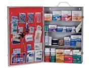 MEDIFIRST 734M1 First Aid Kit, Bulk, White, 34 Pcs, 200 Ppl
