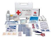 AMERICAN RED CROSS 711223GR First Aid Kit,Bulk,White,110 Pcs,25 Ppl