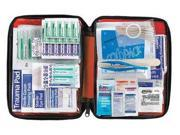 AMERICAN RED CROSS 711432GR First Aid Kit,Bulk,Red,200 Pcs,10 People
