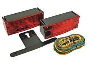 REESE 8600642 LED Submersible Trailer Light, 4 In