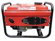 DAYTON 21R163 Portable Generator, 2500 Rated Watts