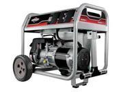 BRIGGS STRATTON 030622 Portable Generator, Rated Watts5000, 305cc
