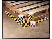 INCOM MANUFACTURING TT09456 Hazard Marking Tape, Roll, 3In W, 54 ft. L