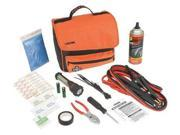 VICTOR 225651028 Roadside Emergency Kit/Triangle, 57 Piece