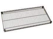 METRO 1836NBL Wire Shelf,18x36 in.,Black Epoxy Coat