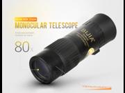 Tactical High Visibility Monocular 15-80x25 Shimmer Night Vision Mini Binoculars Telescope Telescope Hunting Camping