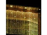 Curtain String Lights Garden Lamps New Year Christmas Icicle Lights Xmas Wedding Party Decorations 300LEDs 3M*3M