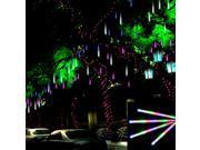 50CM 8Tube 240 LEDs Snowfall Meteor Rain Tube Light Christmas Wedding Party Decoration Lamp