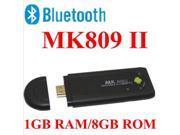 MK809II Dual Core RK3066 Google TV Box 1GB RAM 8GB ROM Bluetooth Wifi HDMI Android Smart TV BOX XBMC WIFI 1080P Media Player