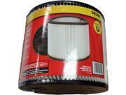 "Shop-Vac Filter, Cartridge 6"" Tall 7.5"" Dia #SV-90304"