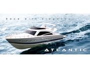 Atlantic Motor Yacht RC Boat with 3S 2200MAH 25C Lipo battery, and  20 watt Charger