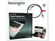Kensington MicroSaver Keyed Twin Notebook Lock