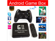 Quad Core Android Game Box G2 Bigbirdvc 2G 8 G with Android 4.4 Original XBMC Media player Andorid tv box with Game pad