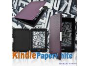 Custom Designed leather cover case for kindle paperwhite