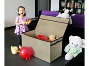 Kids Collapsible Large Toy Chest - Camel [Toy]