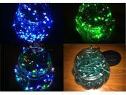 Solar Power 100 LED String Fairy Light Energy Saving Xmas Garden Christmas Party 4 Colors