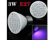 2014 newest E27 3W 20Red:16Blue 36SMD LED Grow Light for Flowering Plant and Hydroponics