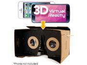 DIY Cardboard 3D Virtual Reality Kit