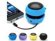 Portable Mini USB Hamburger 3.5mm Speaker Amplifier for Desktop Laptop PC Computer iPhone 6 5 S Samsung S4 S5 MP3 MP4